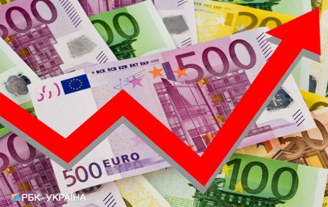 НБУ установил курс евро выше 33 гривен на 21 сентября