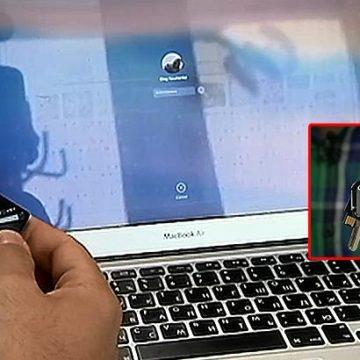 Киевлянин создал уникальный брелок, который запоминает все пароли