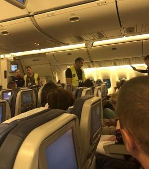 Пьяный Панин устроил дебош на борту самолета в аннексированном Крыму – кадры