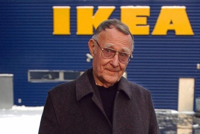 Скончался создатель IKEA