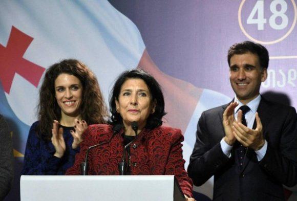 Саломе Зурабишвили – биография нового грузинского президента