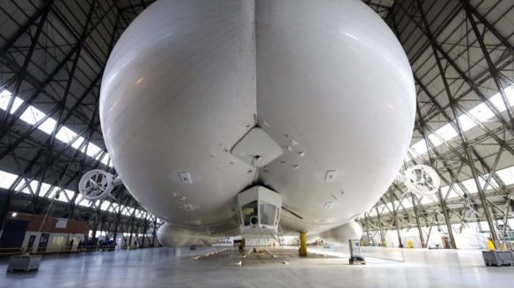 «Летающий зад»: самый длинный в мире дирижабль больше не полетит