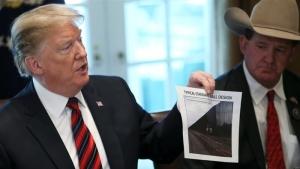 Трамп отказался ввести чрезвычайное положение в США из-за скандальной стены на границе с Мексикой