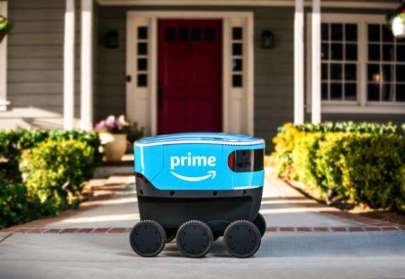 Amazon начала полевые испытания своих роботов-доставщиков Scout