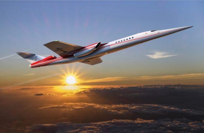 Boeing и Aerion собираются выпустить на рынок первый сверхзвуковой бизнес-джет
