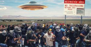 Обстановка возле «Зоны 51» накалена до предела: есть первые задержанные, власти США идут на экстренные меры